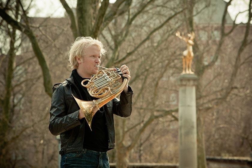 Christoph Ess tritt gemeinsam mit dem Hornquartett german hornsound bei den Festspielen MV