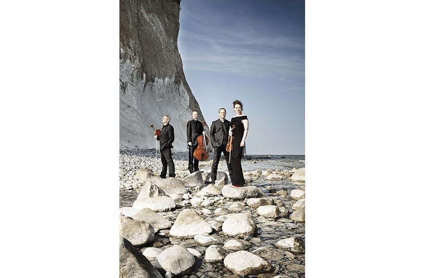 Das Fauré Quartett tritt beim Festspielfrühling Rügen auf.