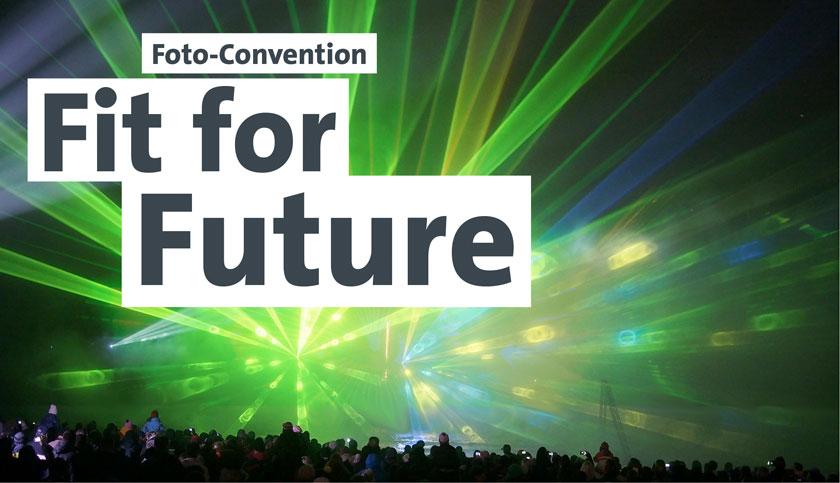 Im Frühjahr 2014 findet die Foto Convention Fit for Future zum Fotofrühling in Zingst statt.