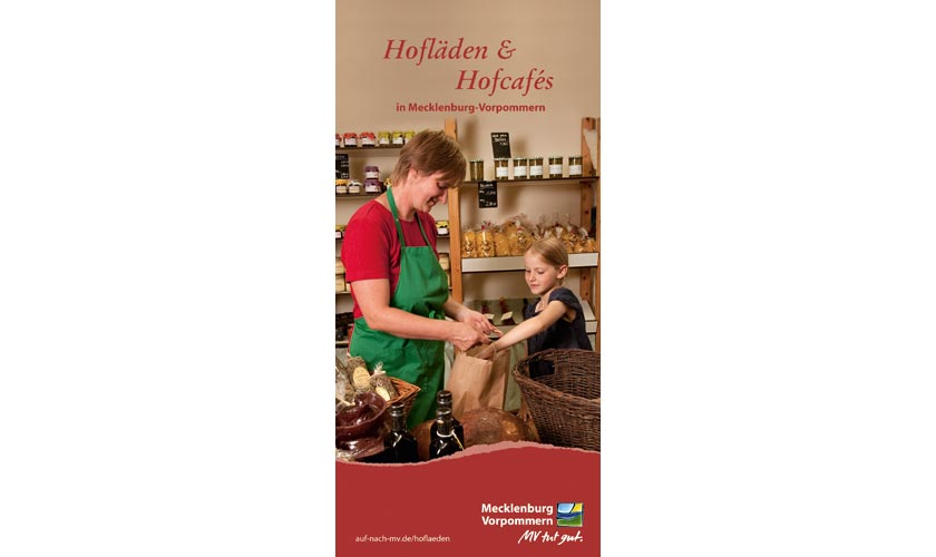 Das Cover der neuen Hofladenkarte für Mecklenburg-Vorpommern.