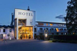Hotel Vier Jahreszeiten Zingst auf dem Darß.