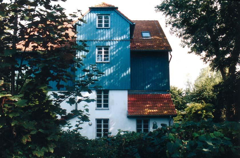 Das Künstlerhaus Lukas in Ahrenshoop ist die Ausstellungsstätte des Zuflucht-Festivals.