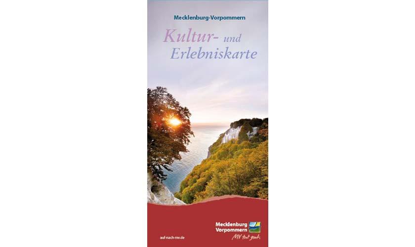 Die neue Kultur- und Erlebniskarte für Mecklenburg-Vorpommern - Foto: TMV/Grundner/Werk3.de