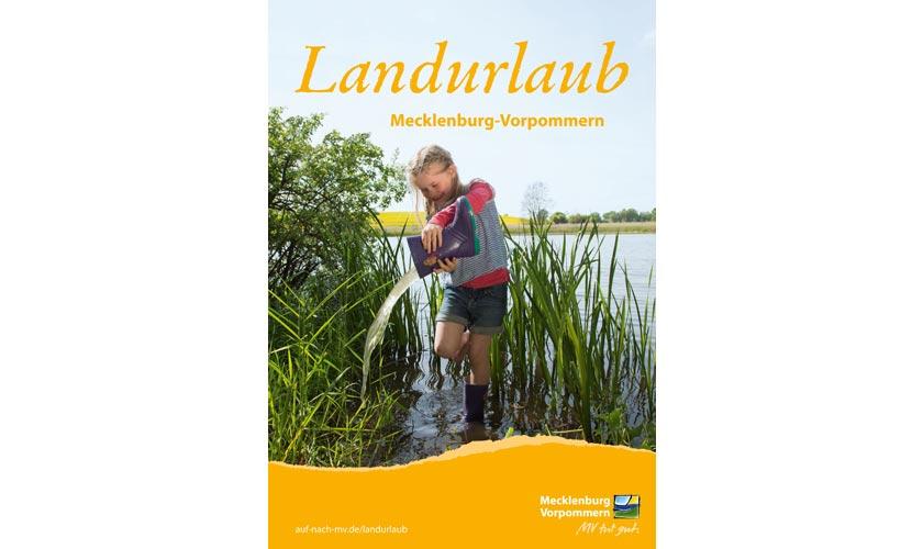 Der neue Katalog für den Landurlaub in Mecklenburg-Vorpommern ist da.