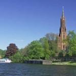 Die Inselstadt Malchow in der Mecklenburgischen Seenplatte