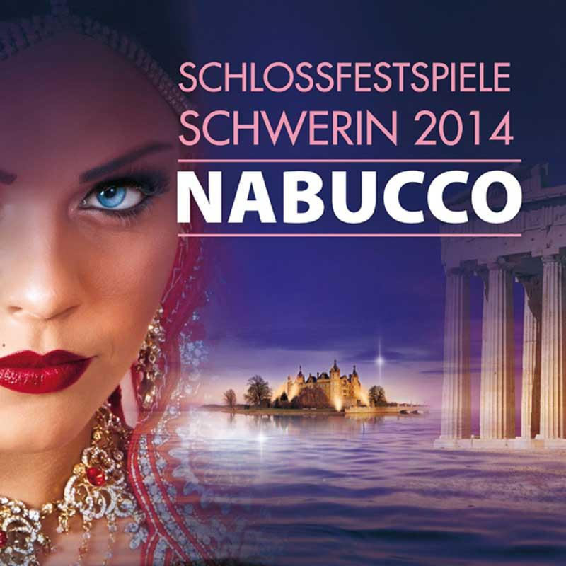 Die Aufführung Nabucco bei den Schlossfestspielen Schwerin 2014, Foto: Theater Schwerin