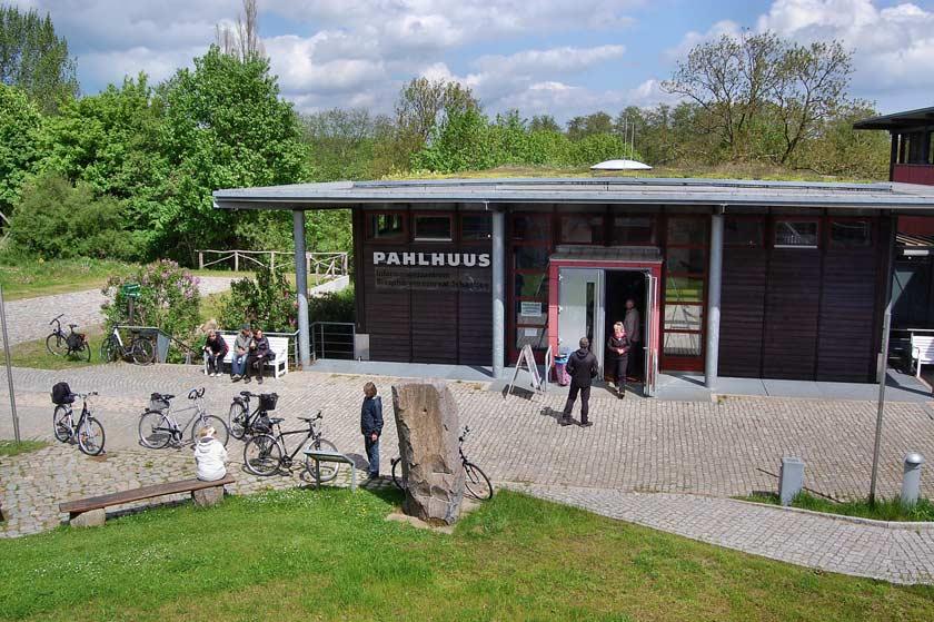 Das Pahlhuus in Zarrentin beherbergt das Infomationszentrum Biosphärenreservat Schaalsee.
