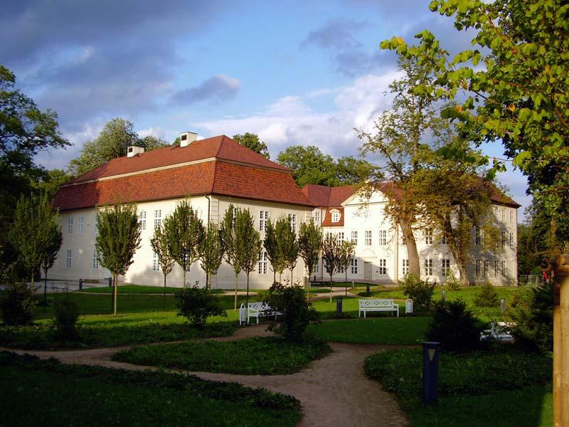 Das Schloss in Mirow in der Mecklenburgischen Seeplatte.