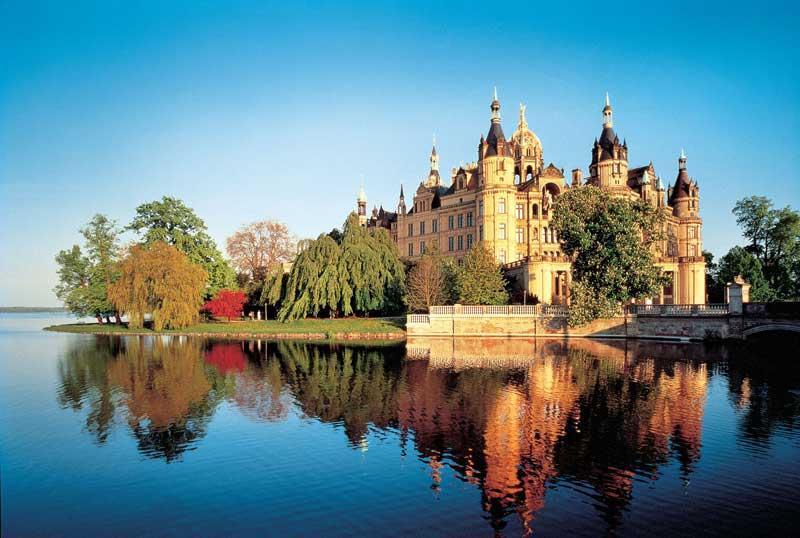 Schweriner Schloss, Foto: TV Mecklenburg-Schwerin / Mosewald