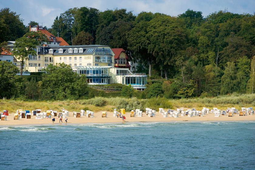 Das Strandhotel Ostsee in Heringsdorf auf der Insel Usedom wurde zum besten Wellnesshotel Deutschlands gekührt.