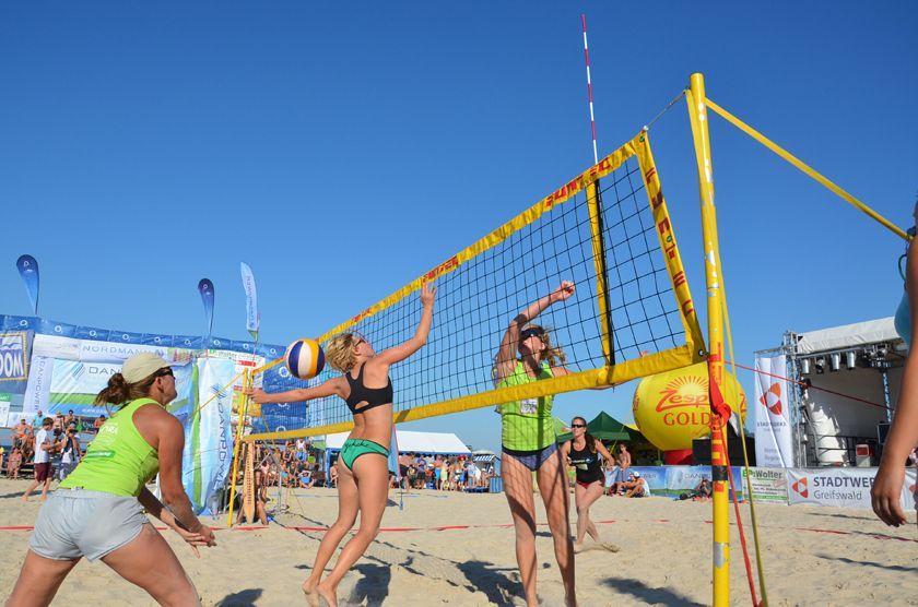 Der 15. Usedom Beachcup findet auch in diesem Jahr auf in Karlshagen statt.
