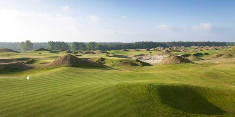 Die Kulisse der EM: Der ausgezeichnete 18-Löcher- Golfplatz WINSTONlinks.