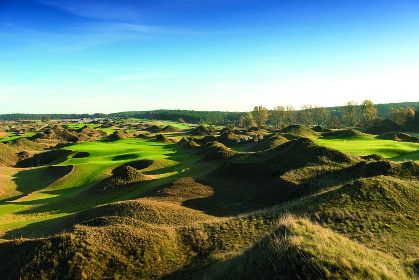 Der WinstonLinks Golfplatz in Vorbeck bei Schwerin wurde nun zu einem der besten Golfplätze Europas gekührt.