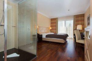 Zimmer im Hotel Vier Jahreszeiten Zingst auf dem Darß.