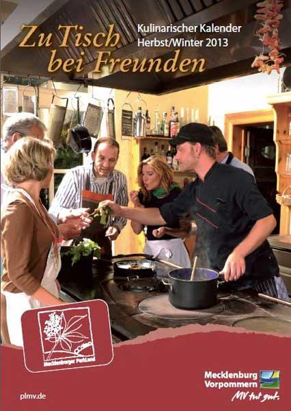 Cover Broschüre Zu Tisch bei Freunden, Foto: Mecklenburger ParkLand